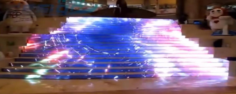 светодиодная лестница