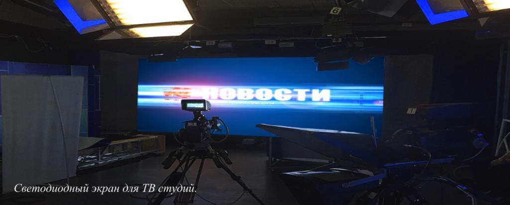 светодиодные экраны для помещения